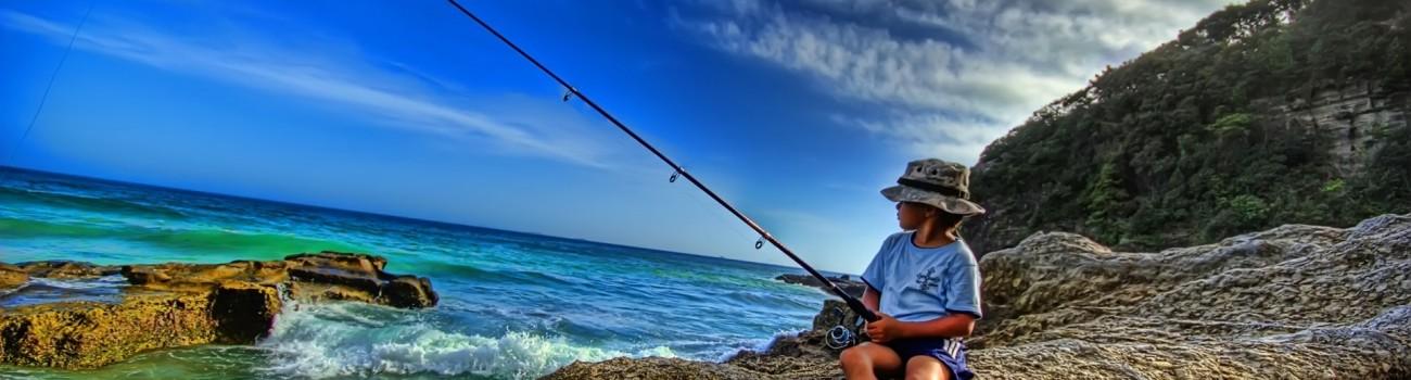 لذت ماهیگیری با آرامش در منزل